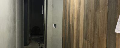 玄関土間と木の板壁が出来てきました!【大阪市戸建住宅リノベーション】