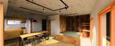 神戸市須磨区のリノベーションが始まります